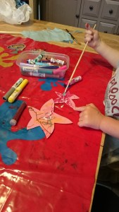 Starfish crafts