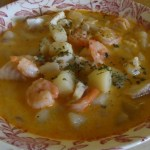 Seafood Chowder with Green Chilies :: An Oregon Cottage
