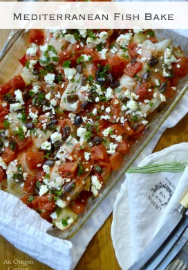 Mediterranean Fish Bake