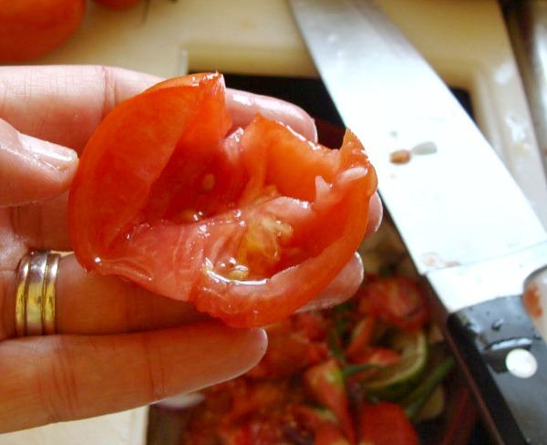 Freezer roasted tomato sauce-step3