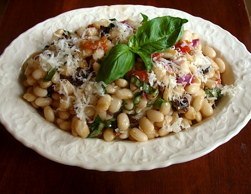 Tuscan White Bean Salad - An Oregon Cottage