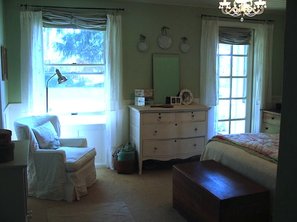 Remodeled Master Bedroom - An Oregon Cottage