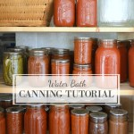 Boiling Water Canning Step-By-Step Tutorial