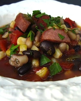 Black Bean and Sausage Soup