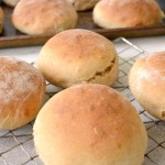 Soft and Tender Homemade Hamburger Buns- ready in 1 hour!