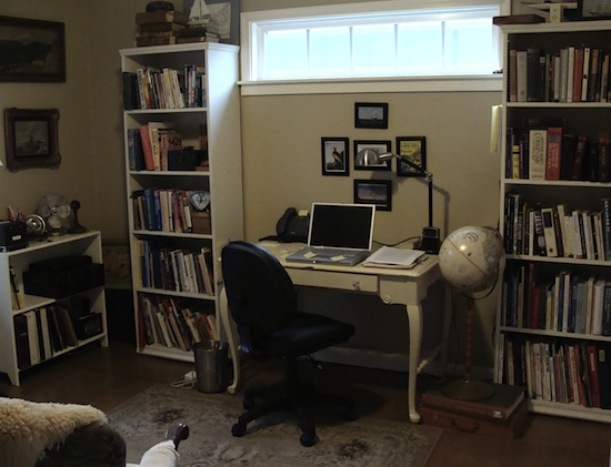 Garage Remodel Office - An Oregon Cottage