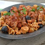 Slow Cooker Chicken with Olives Artichokes and Dried Tomatoes - An Oregon Cottage