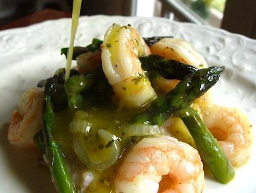 shrimp-asparagus