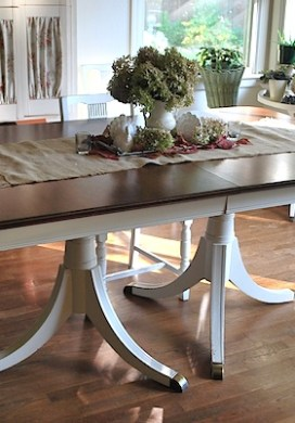 Dining Table Before-And-After (Plus Tutorial)