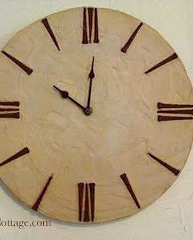 How To Make A Rustic Wall Clock