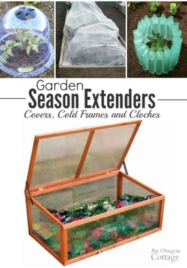 Garden Season Extenders: How to Use Cloches, Covers, and Cold Frames