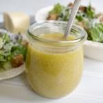 Easy Classic Caesar Salad Dressing recipe