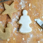 Frosting Whole Grain Cut Out Cookies