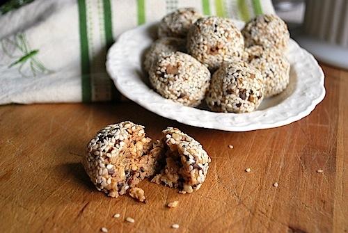 PB-Chocolate Granola Bites