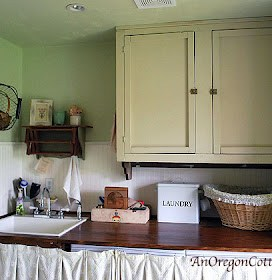 Thirty Minute Laundry Room Spruce-Up
