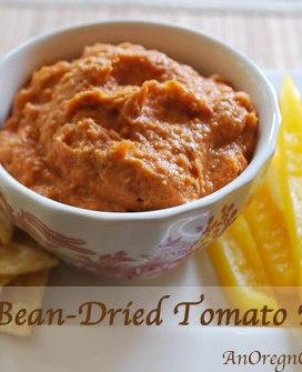 White Bean-Dried Tomato Dip