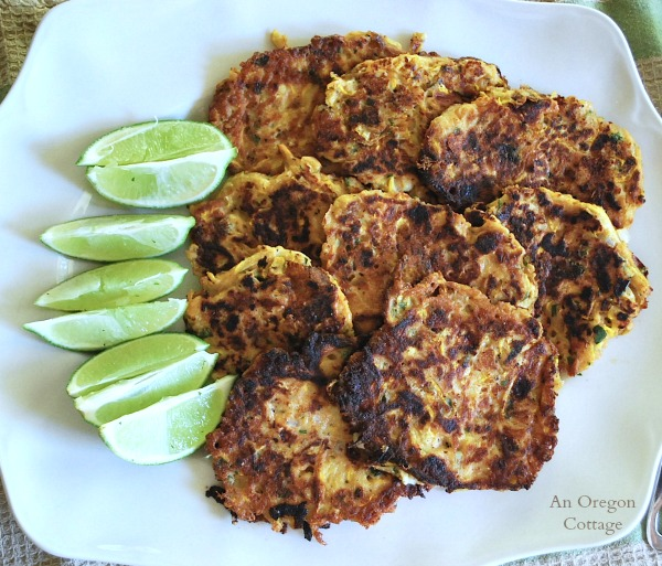Zucchini-Feta Fritters - An Oregon Cottage