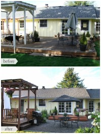 The Backyard Makeover Reveal - An Oregon Cottage
