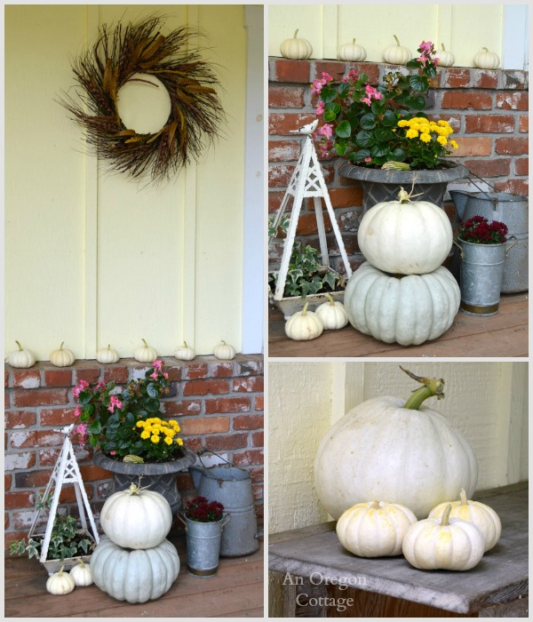 2014 Fall Porch Decorating