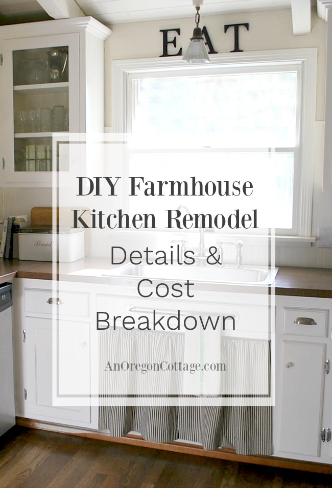 inexpensive kitchen remodel glass door cabinet 80s ranch to farmhouse fresh diy details and cost here are the breakdown of our makeover that turned