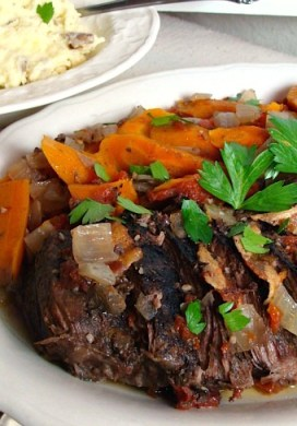 Slow Cooker Italian Style Pot Roast
