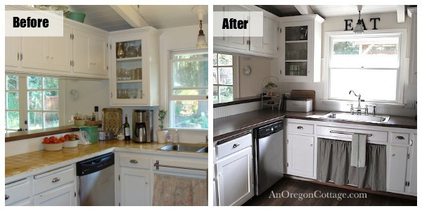 kitchen before after left. Interior Design Ideas. Home Design Ideas