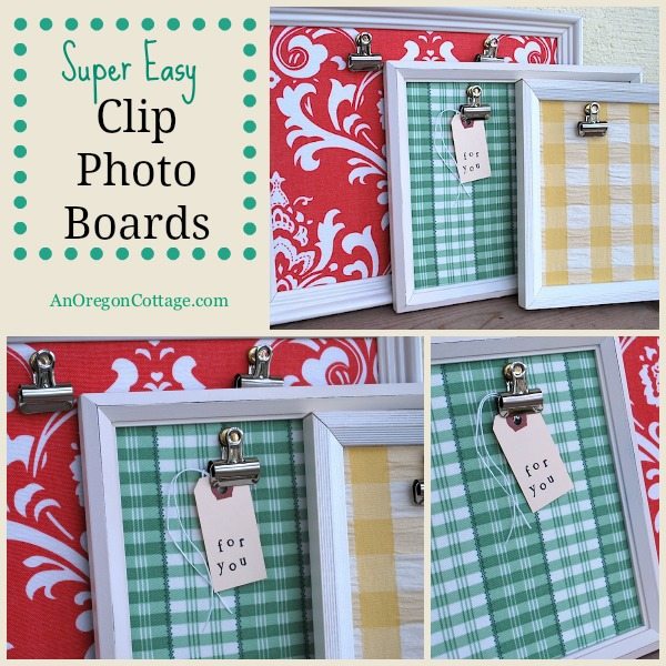 Easy Clip Photo Boards