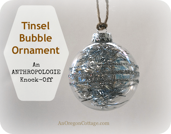 Tinsel-bubble-ornament