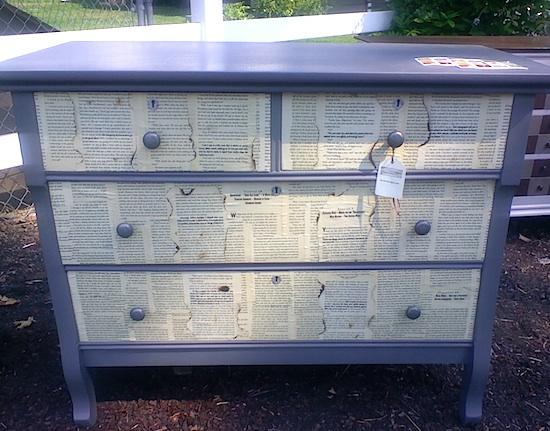 book page dresser