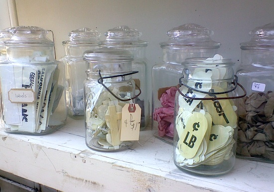 jars with findings