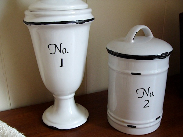 numbers on jars