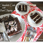 Triple Chocolate Cake with Crispy Bark Topping - An Oregon Cottage