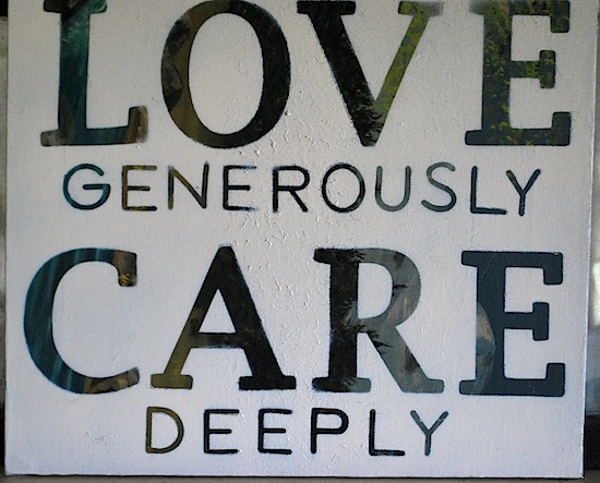 love-care-sign