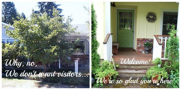 Welcoming Entry Before-After