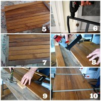 How To Make a Desk with Ikea Trestle Legs and Old Wood ...