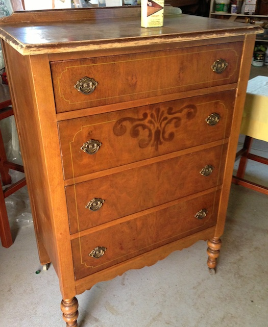 Quick antique dresser restoration Reclaimed wood furniture portland oregon