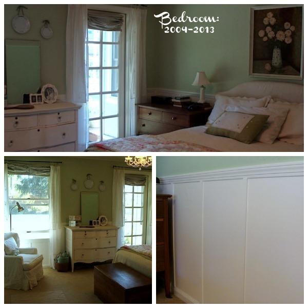 Master Bedroom after first remodel - An Oregon Cottage