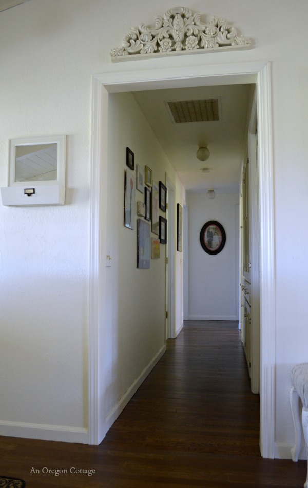Add Character to a Doorway with Molding - After - An Oregon Cottage