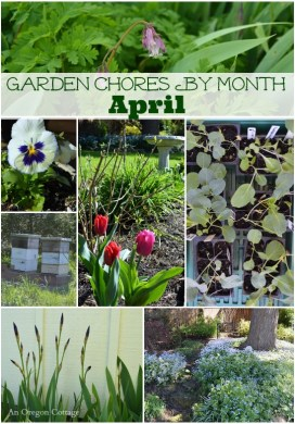 Garden Chores By Month: April