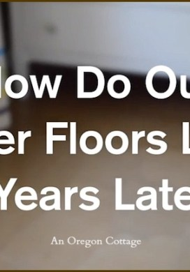 Popular Brown Paper Flooring Follow-Up: How Are They 4 Years Later?