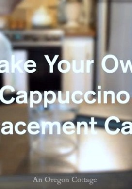 Easily Make a Replacement Cappuccino Carafe