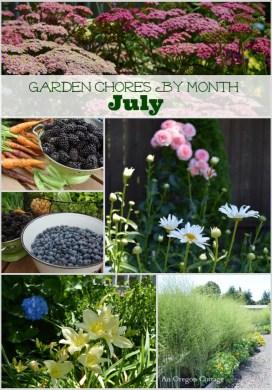Garden Chores for July
