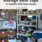 Tips to Simplify and Make Money with a Garage Sale