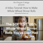 Soft 100% Whole Wheat Rolls Video
