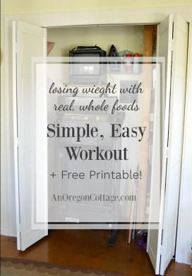 A Simple, Easy Workout Routine {Plus A Free Printable}