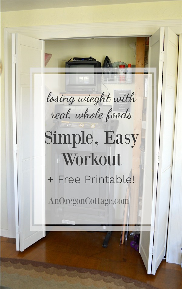 This easy workout routine covers the bases of gentle resistant training for healthy bones and muscles and aerobics for heart health with a free printable that fits into any lifestyle.