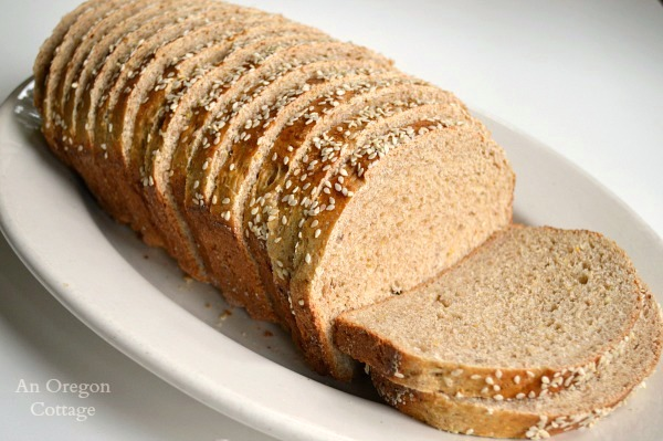 Easy 10 Grain Sandwich Bread