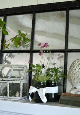 Blooming Spring Mantel