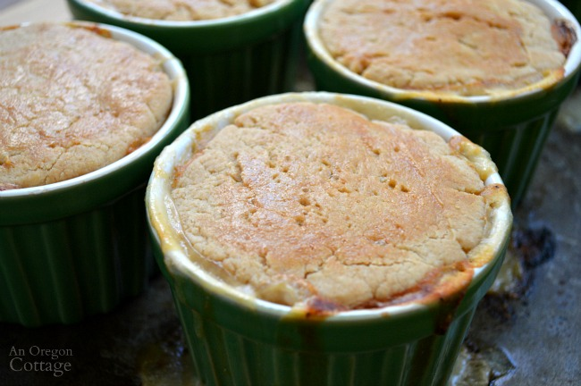Easy whole wheat-oil crust for chicken pot pie