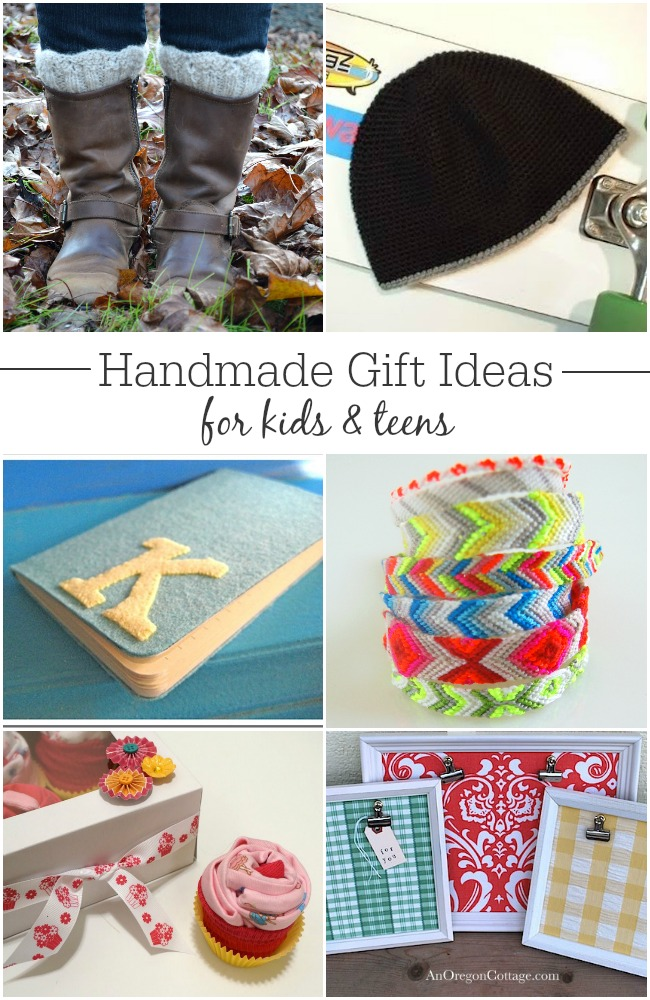 Handmade Gift Ideas for Kids and Teens